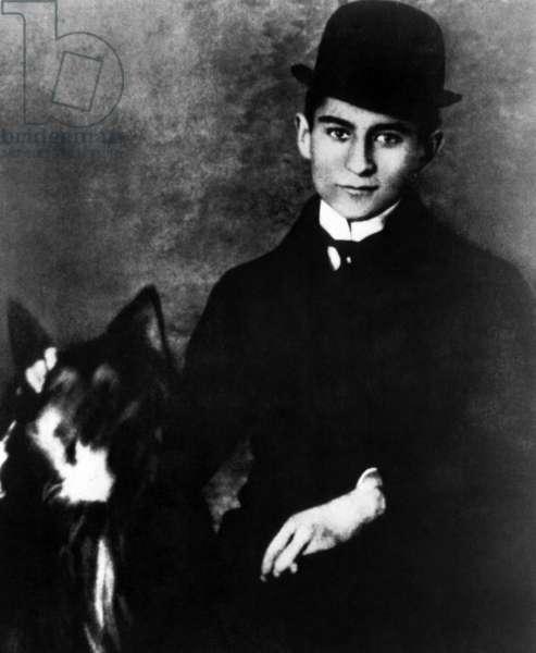 Author Franz Kafka, c. 1910s.