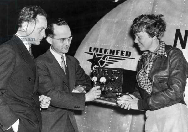 Amelia Earhart (right), mid-1930s