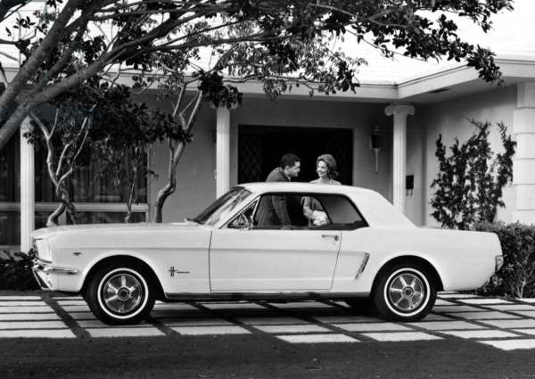 Ford Mustang, c.1966.
