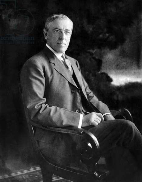 President elect Woodrow Wilson (1856-1925), c.1912