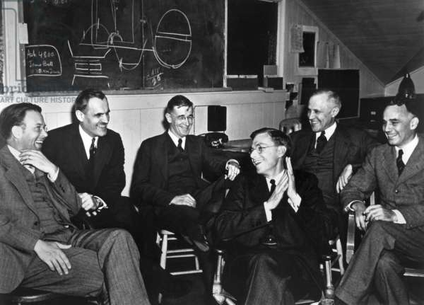 1940 meeting of nuclear physicists at the Radiation Laboratory at the University of California