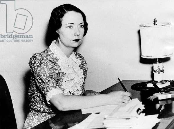 Margaret Mitchell, 1937.