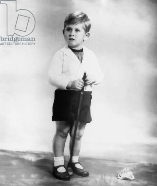 British Royalty. Future Prince of Wales Prince Charles of England, 1951