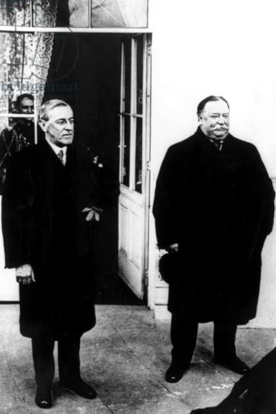 WOODROW WILSON and WILLIAM HOWARD TAFT