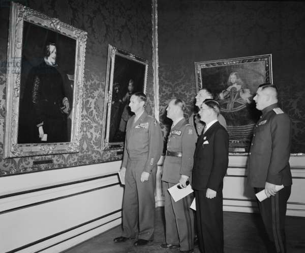 Velazquez Painting returned to Austria in ceremony on Dec. 19, 1948