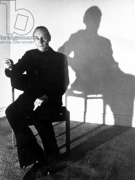 William S. Burroughs, 1975