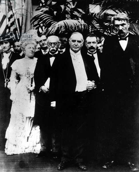 William McKinley Buffalo, NY, September 5, 1901, one day before his assassination.
