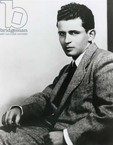 Norman Mailer, American novelist, journalist, essayist, playwright. At times he extended his activities into film making, acting and running for political office. c. 1950