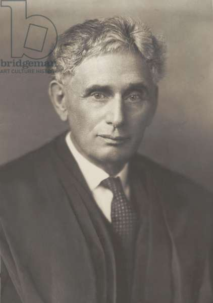 Louis Brandeis (1856-1941), was appointed to the Supreme Court by Woodrow Wilson in 1916