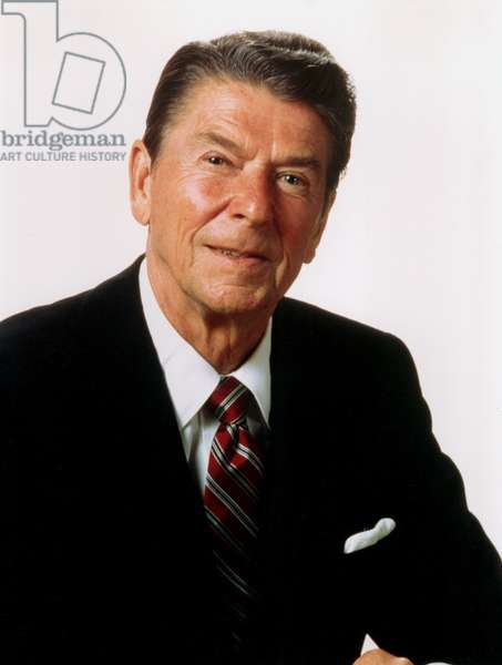 Ronald Reagan, portrait, c. 1982