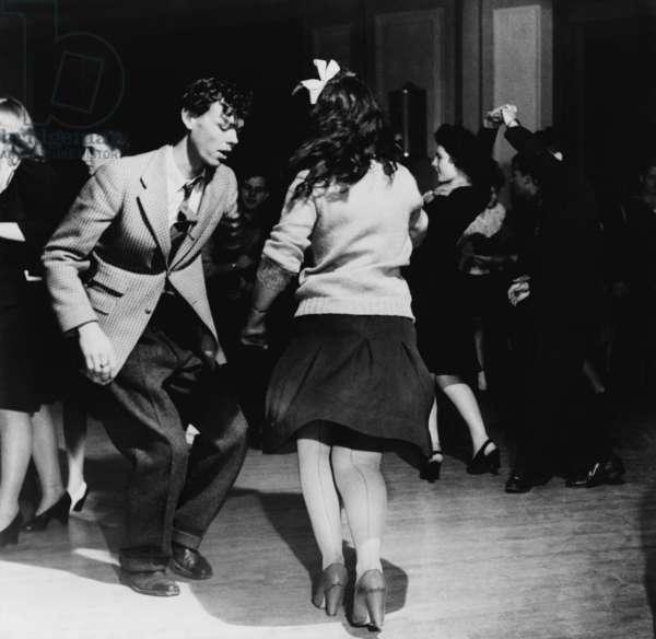 Jitterbugs at an Elk's Club dance, in Washington, D.C. April 1943
