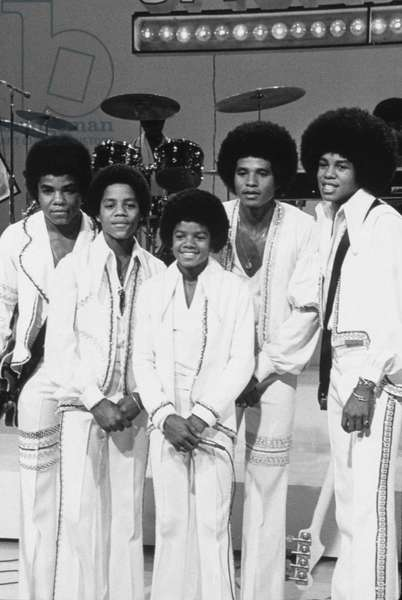 JACKSON FIVE, THE: group portrait shot, 1972