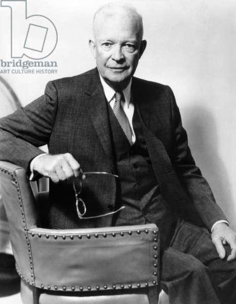 President Eisenhower in a 1966 portrait