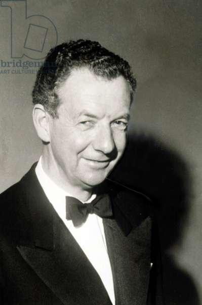 Benjamin Britten, British Composer.