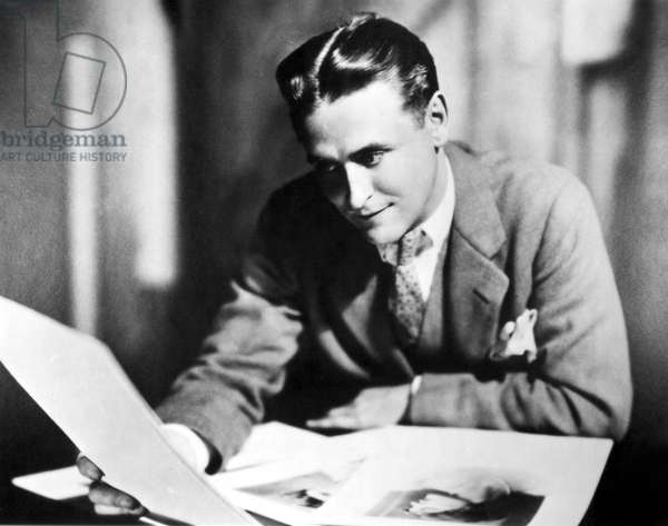 F. SCOTT FITZGERALD in the late 1920, s.