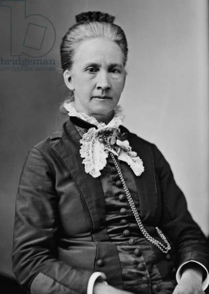 Belva Lockwood (1830-1917), was a lawyer, politician and life long feminist. In 1879, she became the first women to be allowed to practice before the U.S. Supreme Court and ran for president in 1884 and 1888 on the ticket of the National Equal Rights Party