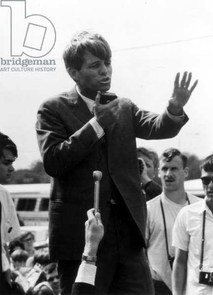 Robert Kennedy in the Mississippi Delta, undated