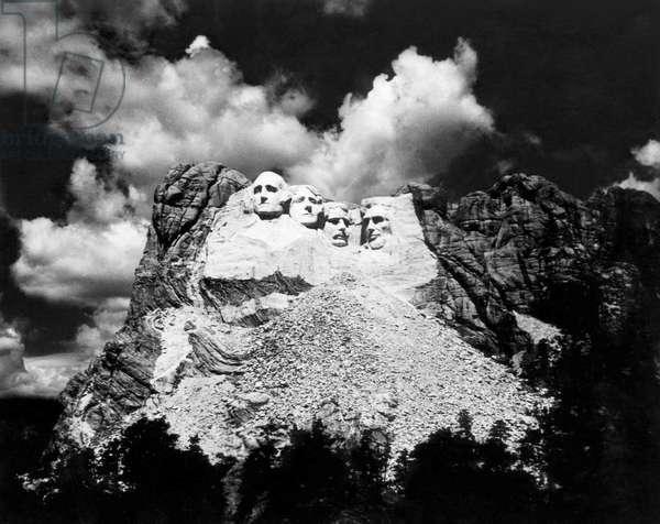 Mount Rushmore, near Keystone, South Dakota, c.1963