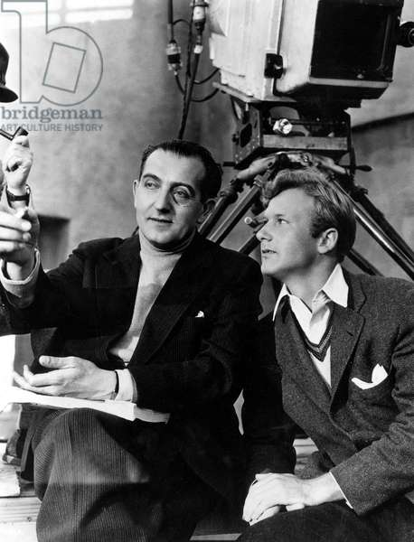 FRITZ LANG and DAVID TYRREL