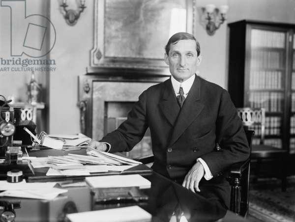 William McAdoo (1863-1941), Woodrow Wilson's Secretary of the Treasury (1913–18), c.1914
