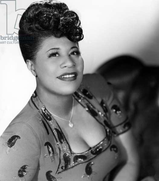 Ella Fitzgerald, c. 1949.