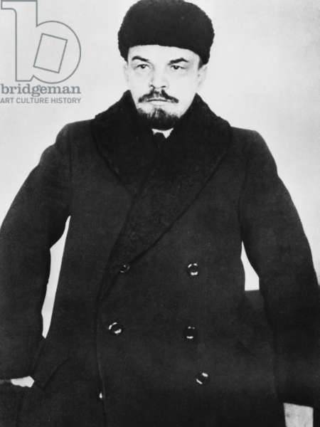 Russian politician and Premier Vladimir Lenin, c. 1920's.