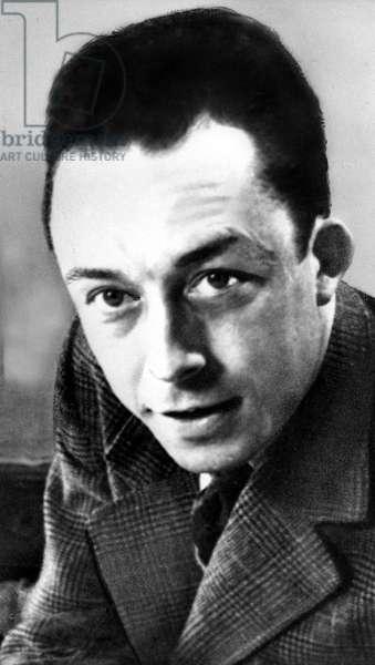 ALBERT CAMUS, Author, (1913-1960) Nobel Prize in Literature, 1957.