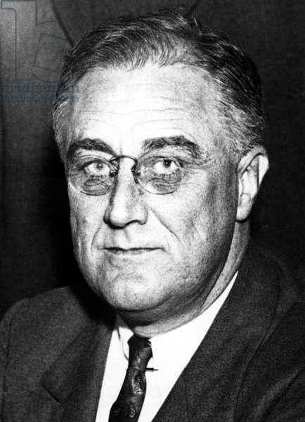 President Franklin Delano Roosevelt (1882-1945) 32nd President, 1/30/34