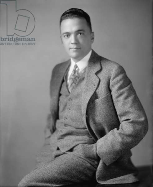 Young J. Edgar Hoover c. 1925 as he was rising in the government's Bureau of Investigation in the 1920's