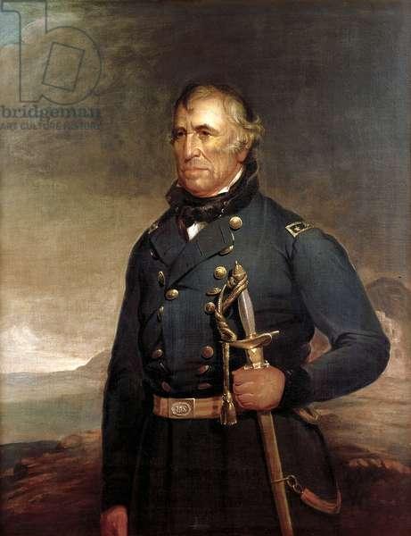 Zachary Taylor, 1848 (oil on canvas)