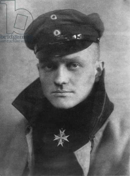 Baron Captain Manfred von Richtofen, the Red Baron, was a German fighter pilot. He was the top ace of World War I, officially credited with 80 air combat victories, more than any other pilot. Richthofen was shot down and killed near Amiens on April 21, 1918