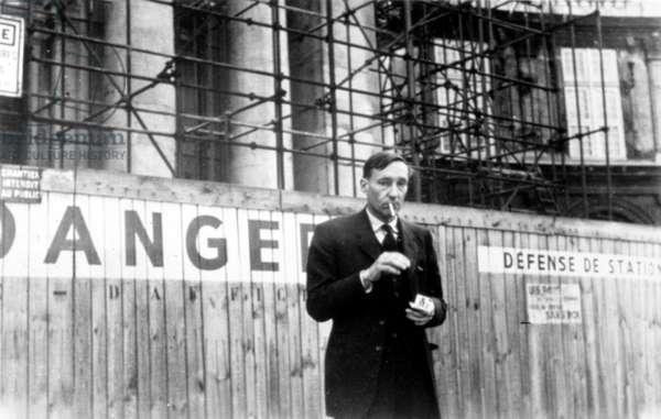 William S. Burroughs, writer, c.1950s