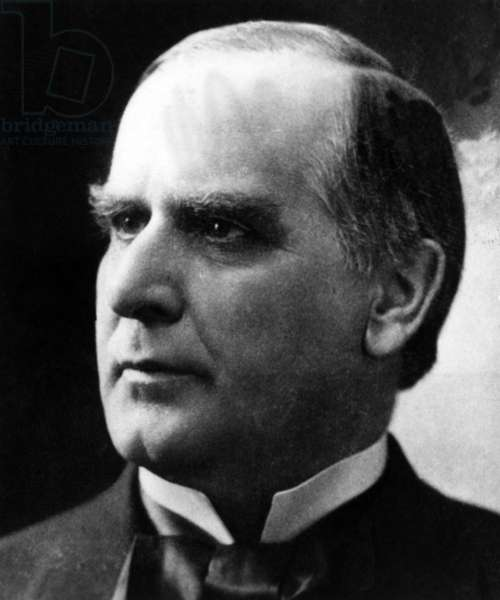 William McKinley, (1843-1901), U.S. President 1897-1901, c. 1890's.