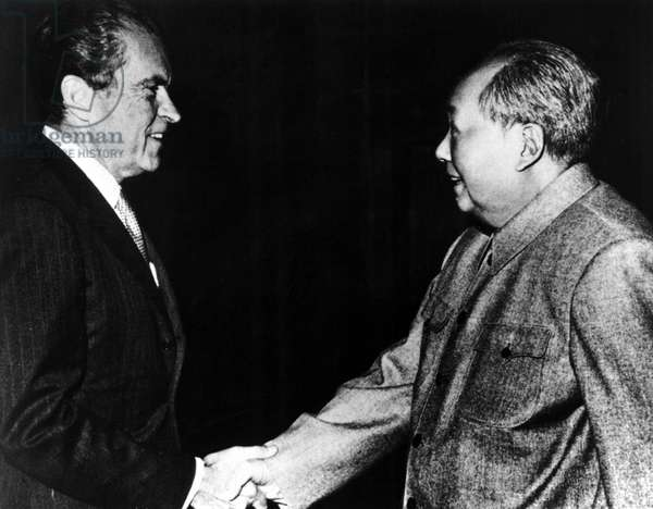 Richard Nixon, Mao Zedong in China, 1972