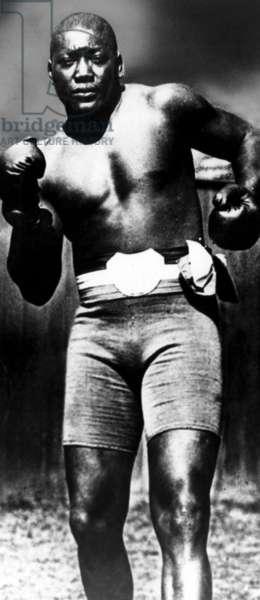 Boxer Jack Johnson, c. 1910s.
