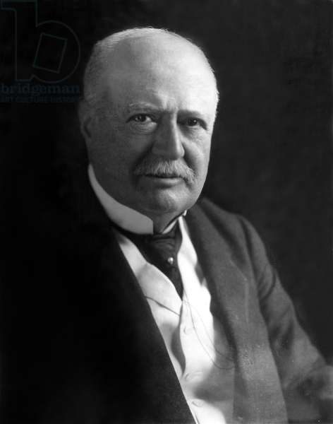 Samuel P. Colt, chairman of the board of directyors of the United States Rubber Company. Undated portrait.