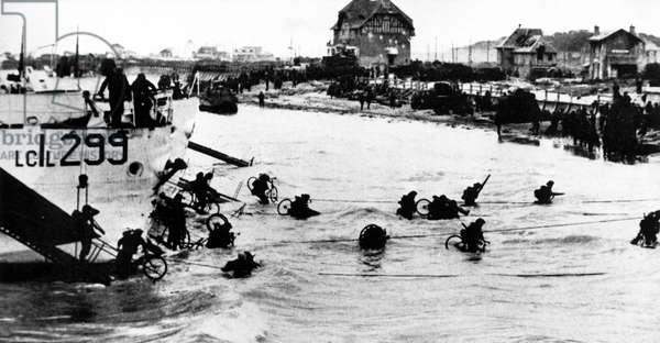 D-DAY, Allied Troops invade Normandy, France, 1944