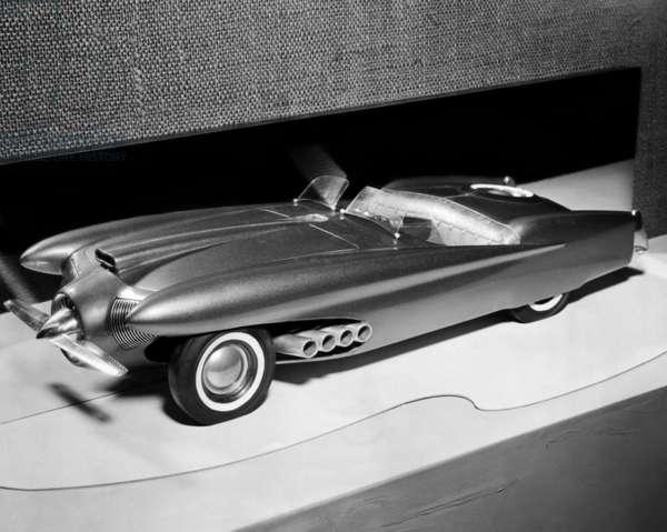 Clay model of a Ford 'dream' car, 1952