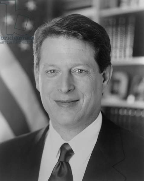 Senator Albert Gore in 1992, as candidate for Vice President. He served two terms with President Bill Clinton and was the Democratic Candidate who lost to George W. Bush in the contested 2000 election