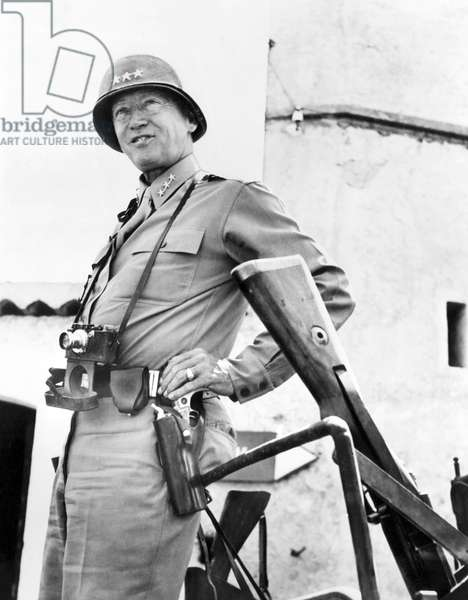 General George Patton, (1885-1945), Sicily, 1943