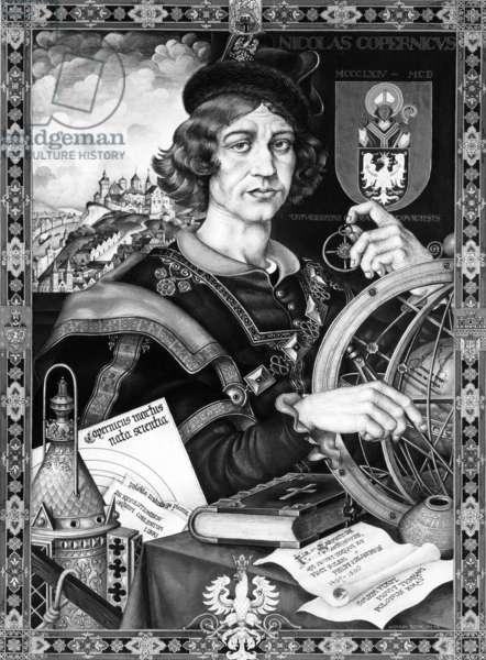 Polish astronomer Nicholas Copernicus, 1543 AD