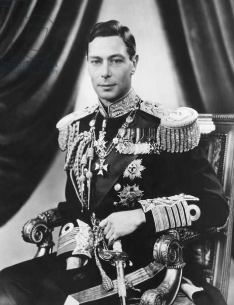 King George VI (1895-1952), King of the United Kingdom, May 3, 1937.