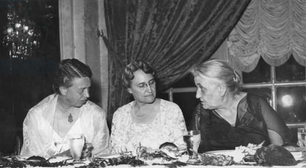 First Lady, Eleanor Roosevelt, honored Women's International League for Peace and Liberty. May 3, 1935.