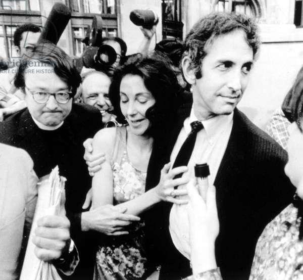 Pentagon Papers Defendant Daniel Ellsberg and wife Patricia, 06/28/71.