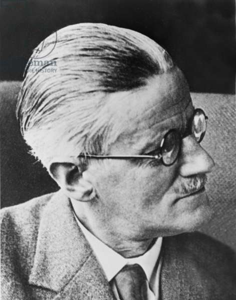 James Joyce (1882-1941) author of 20th century classics,