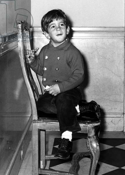 John F. Kennedy Jr., portrait, 11/3/64
