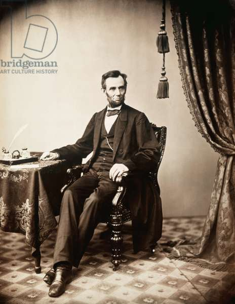 Abraham Lincoln (1809-1865), U.S. President (1861-1865)
