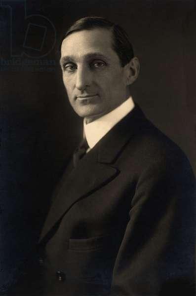 William McAdoo (1863-1941), as President Woodrow Wilson's powerful, wartime Secretary of the Treasury, 1914