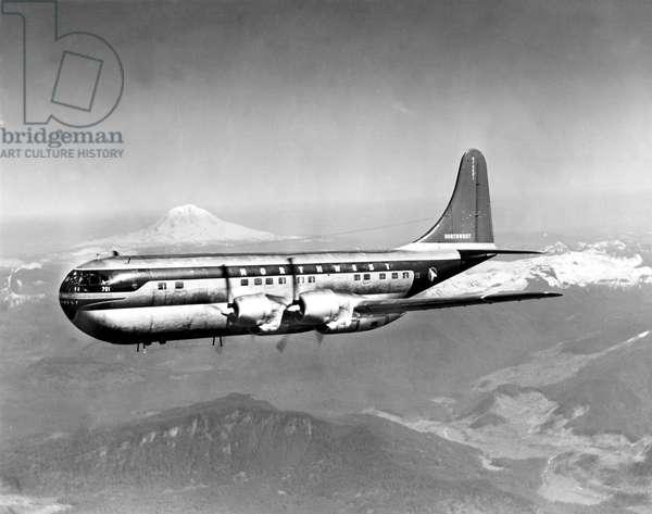 Northwest Airlines 65-passenger Boeing, 1949.