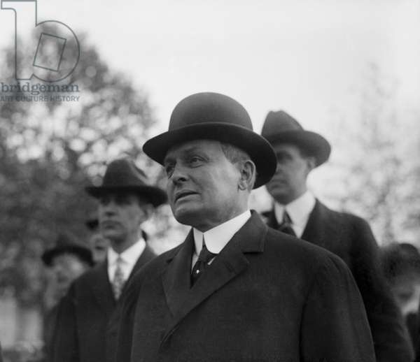 Harry A. Garfield: Harry A. Garfield (1863-1942), son of assassinated President James Garfield, was teaching at Princeton University when Woodrow Wilson appointed him to be the fuel administrator during World War I. 1918.